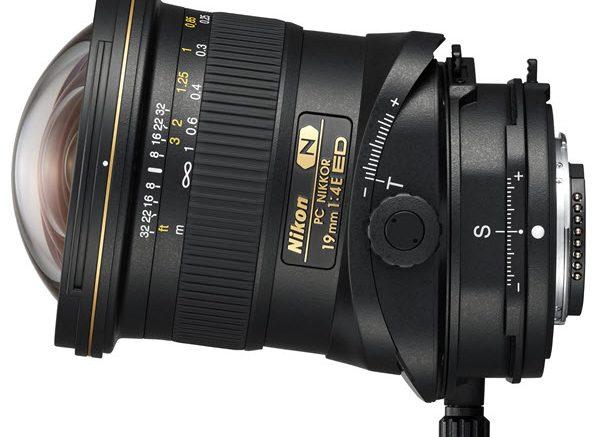 Nikon PC-E 19mm f/4 ED, bascule, décentrement et rotation pour la photo d'architecture