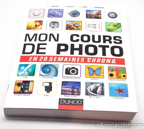 Mon cours de photo en 20 semaines chrono, guide d'auto-formation