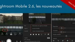 Adobe Lightroom Mobile 2.6 pour iPhone et iPad, Android 2.2.2