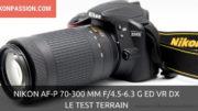 Test Nikon AF-P 70-300 mm f/4.5-6.3 G ED VR DX