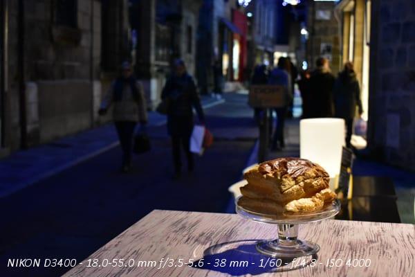 Test Nikon D3400 : photo de nuit