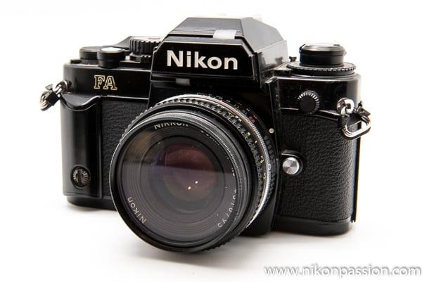 Nikon FA - Nikon a 100 ans en 2017, retour sur un siècle d'histoire