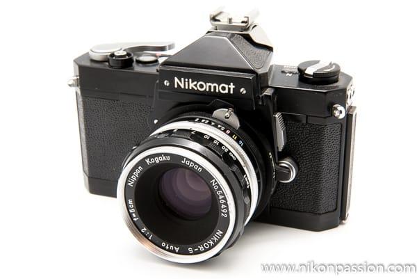 Reflex Nikon Nikomat - collection Nikon Passion - Nikon a 100 ans en 2017