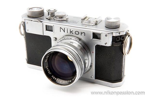 Nikon S télémétrique - collection Nikon Passion - Nikon a 100 ans en 2017