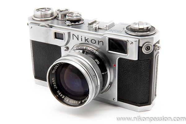 Nikon S2 télémétrique - collection Nikon Passion - Nikon a 100 ans en 2017