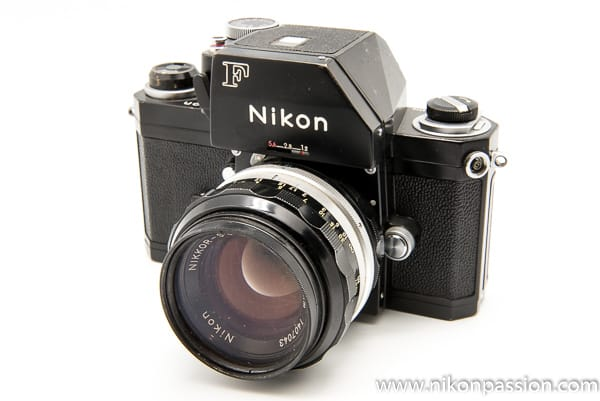 Reflex Nikon F Apollo - collection Nikon Passion - Nikon a 100 ans en 2017