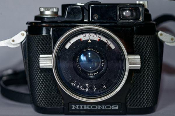 Nikonos I appareil reflex étanche - collection Thierry Parent - Nikon a 100 ans en 2017