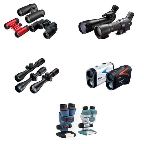 Nikon Sport Optics, jumelles, longues-vues, télémètres laser, lunettes de tir, microscopes de terrain