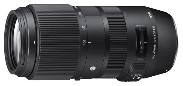 Sigma 100-400mm f/5.6-6.3 DG OS HSM
