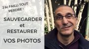Comment sauvegarder et restaurer ses photos quand on change d'ordinateur