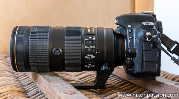 test Nikon AF-S 70-200mm f/2.8 E FL ED