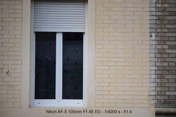 Test Nikon AF-S 105mm f/1.4 E ED