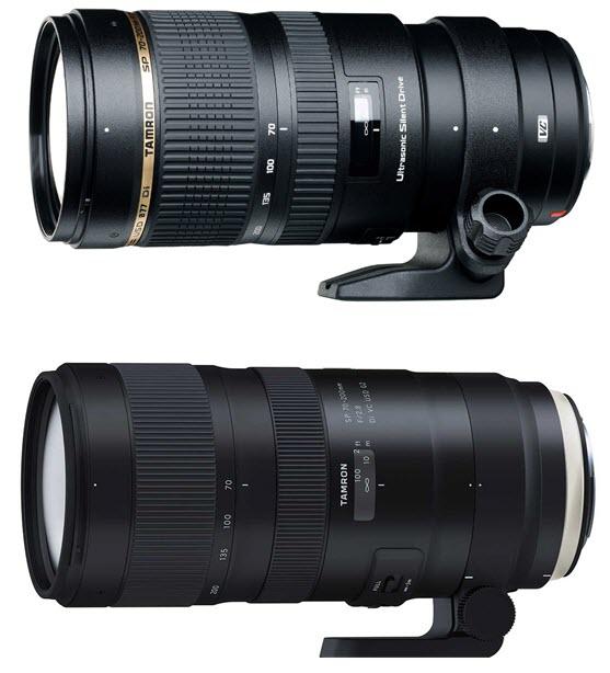Comparaison Tamron 70-200 G1 vs. G2 Test Tamron SP 70-200mm f/2.8 G2