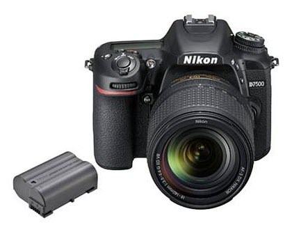 Batterie autonomie - nikon d7500 ou nikon D500 - comparatif