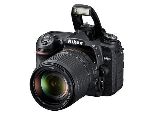 Flash intégré - comparaison Nikon D7500 - D500