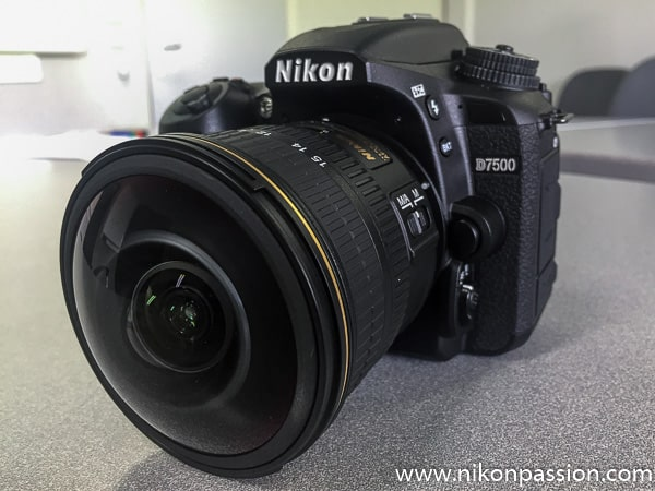 Nikon AF-S Fisheye 8-15mm f/3.5-4.5E ED