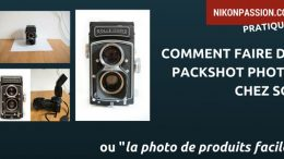 Comment faire du packshot photo chez soi