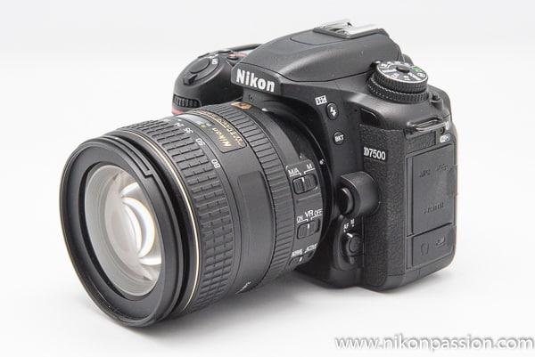 Test Nikon D7500