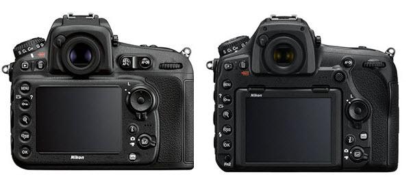 Comparaison Nikon D810 - D850