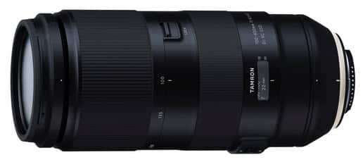 Tamron 100-400mm f/4,5-6,3 Di VC USD, zoom pour Nikon FX