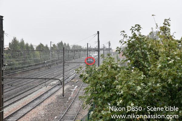 Test Nikon D850 autofocus