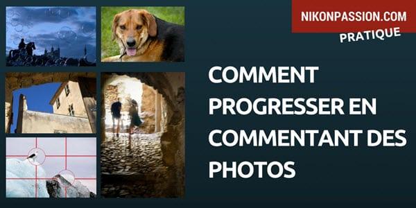 Comment progresser en commentant des photos, tutoriel