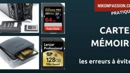 Comment utiliser les cartes mémoire