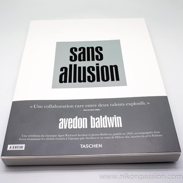 Sans allusion, Richard Avedon et James Baldwin pour la réédition de Nothing Personal de 1964