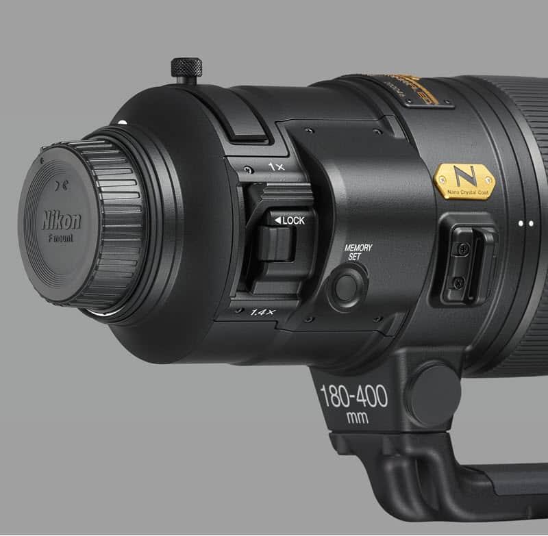 Nikon AF-S 180-400mm f/4 E TC14 FL ED VR