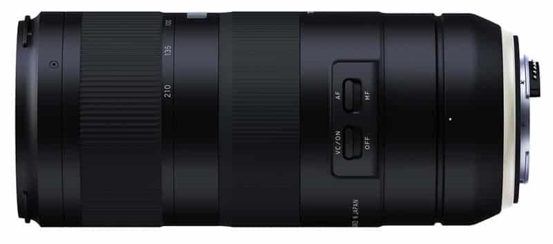 Tamron 70-210mm f/4 Di VC USD pour Nikon et Canon, téléobjectif à ouverture f/4 constante
