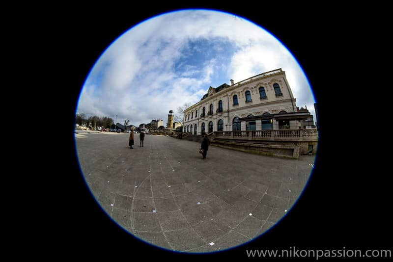 Test Nikon 8-15mm Fisheye