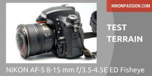 Test Nikon 8-15mm Fisheye