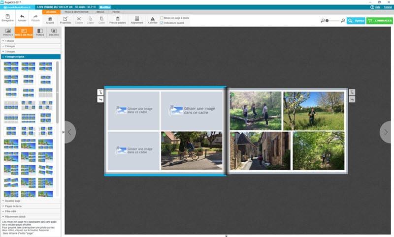 Comment faire un livre de photos avec monAlbumPhoto.fr, test et avis
