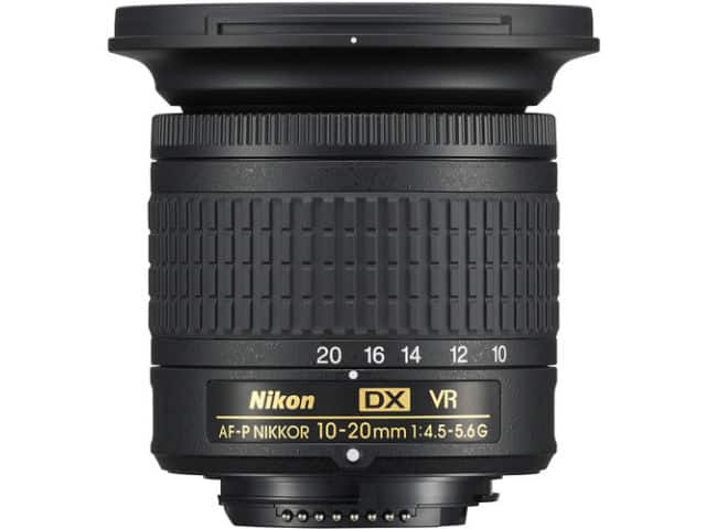 NIKON AF-P DX 10-20mm f/4.5-5.6G VR objectif Nikon pas cher
