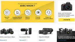 Promotions Nikon Store Eté 2018, des remises Nikon sur une sélection de reflex et objectifs