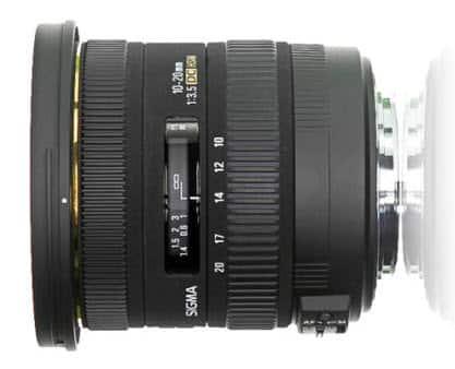 Sigma10-20 mm f/3.5 EX DC HSM