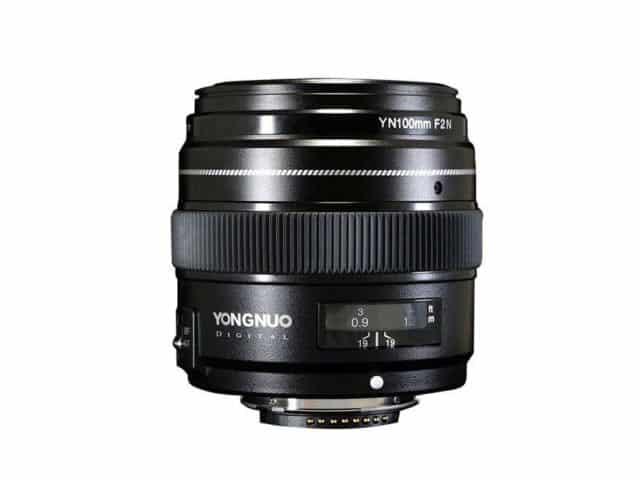 Yongnuo YN 100mm f/2 pour Nikon