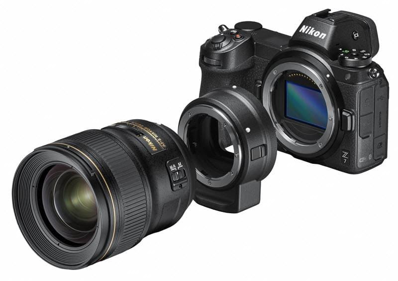 Utilisation de la bague Nikon FTZ, Quel hybride Nikon choisir