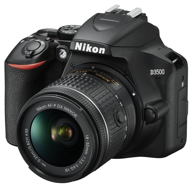 Quel appareil photo choisir : le Nikon D3500