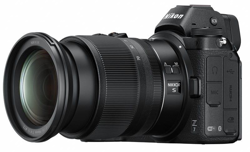 Zoom Nikon Z 24-70mm f/4 S pour Nikon hybride