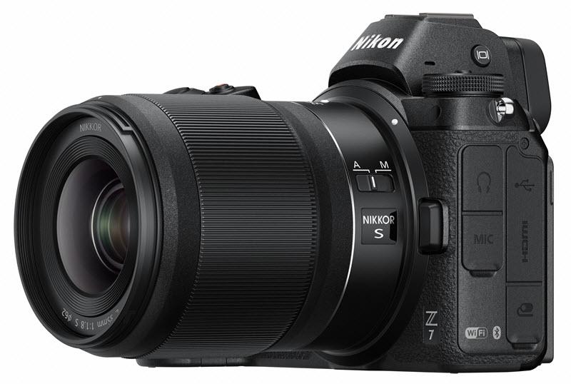 Nikon Z 35mm f/1.8 S pour Nikon hybride
