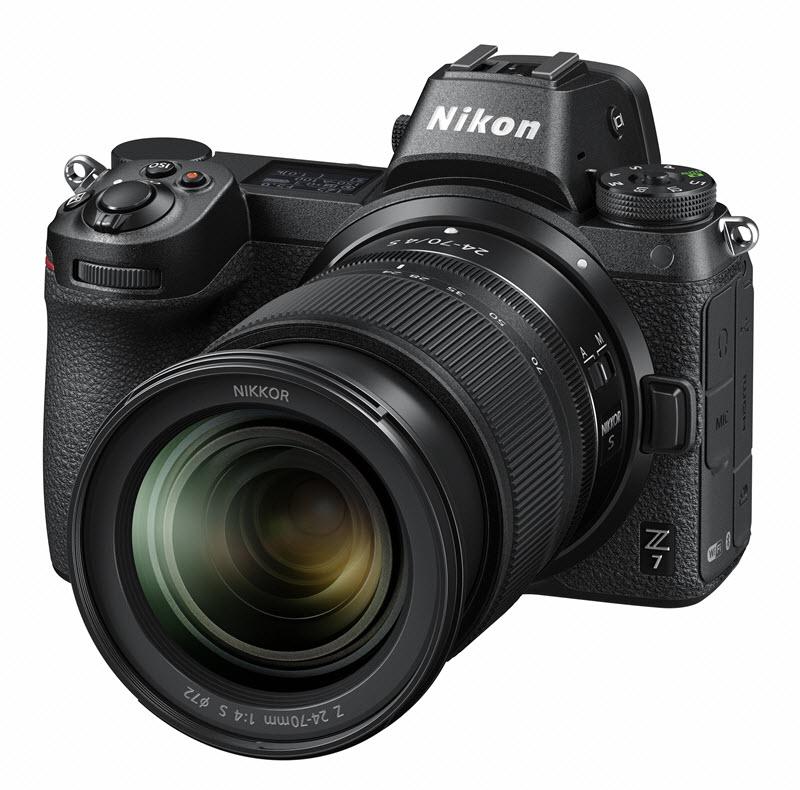 Nikon Z6 vs Z7, le Nikon Z7