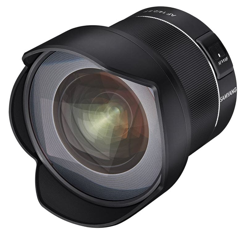Samyang AF 14mm F2.8 F, le premier Samyang autofocus pour reflex Nikon