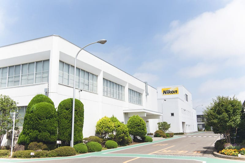 Visite de l'usine Nikon Sendai au Japon, les photos