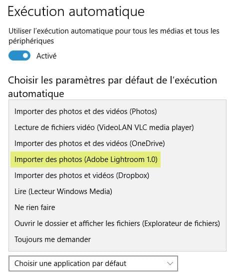 Choix du logiciel servant à copier les photos dans Windows - guide de choix logiciels photo