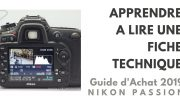 Guide d'achat photo 2019 : apprendre à lire une fiche technique - 2/6