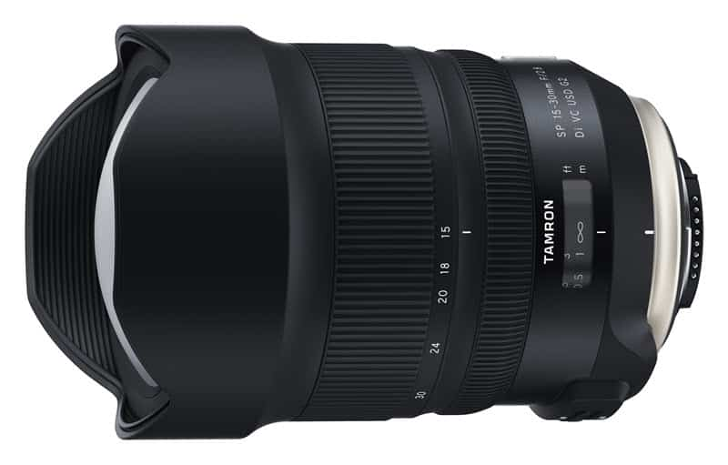 Tamron SP 15-30mm f/2,8 Di VC USD G2 : l'ultra grand-angle pour reflex Nikon F