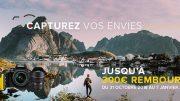 Remises Nikon et cashback 2018 : jusqu'à 300 euros remboursés sur une sélection de boîtiers et objectifs