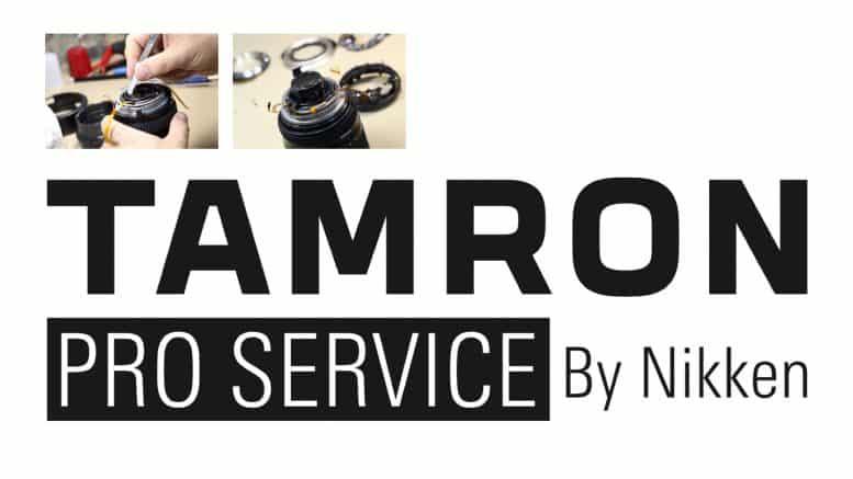 Tamron Pro Service : réparation sous 24h ou prêt d'un objectif de remplacement