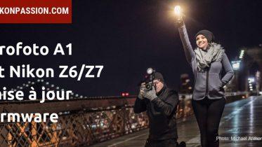 Flash Profoto A1 et Profoto Air Remote sur Nikon Z6 et Z7, la mise à jour